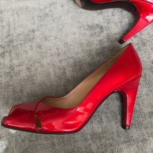 Stuart Weitzman patent leather heels